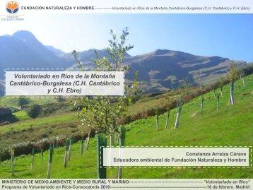 Fundación Naturaleza y Hombre. - Ministerio de Agricultura ...