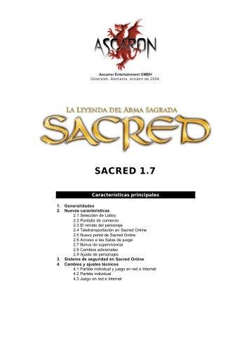 Sacred 1.7 - FX Interactive