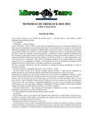 MEMORIAS DE SHERLOCK HOLMES - AMPA Severí Torres