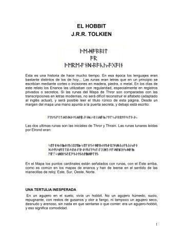 el hobbit - Inspirado en la obra de J.R.R Tolkien y diversos autores ...