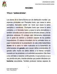 ácaros - Repositorio de la Universidad de Cuenca