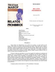 RELATOS PROHIBIDOS - andes