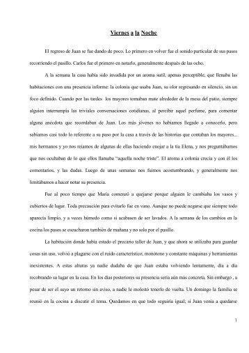 Viernes a la Noche - Sergio Alberino
