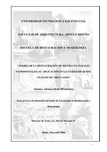 CASO 1 - Universidad Tecnológica Equinoccial