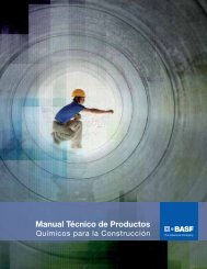 Manual Técnico de Productos - BASF