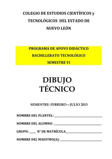 DIBUJO TÉCNICO - Index of