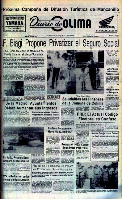 F Biagi Propone Privatizar El Seguro Socia L Universidad