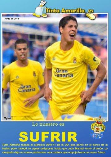 resumen de la temporada 2010-11 - Tinta Amarilla