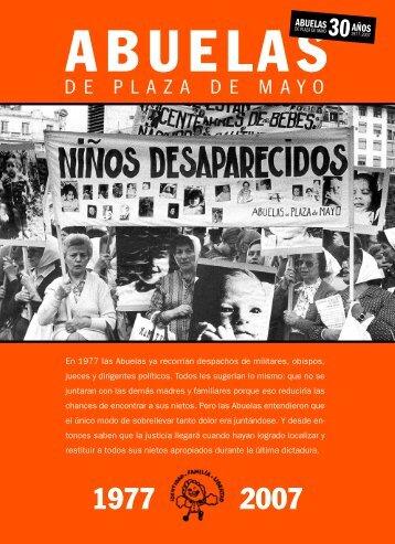 revista abuelas web.qxp - Abuelas de Plaza de Mayo