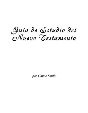Guía de Estudio del Nuevo Testamento - Calvary Chapel