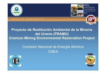 Proyecto de Restitución Ambiental de la Minería del Uranio ...