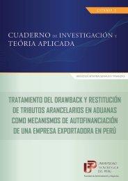 tratamiento del drawback y restitución de tributos arancelarios ... - UTP