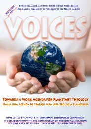 TOwARDs A WORk AGENDA FOR PLANETARY THEOLOGY