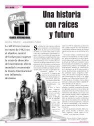 Una historia con raíces y futuro - Archivo León Trotsky