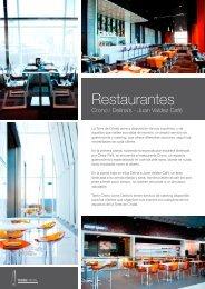 Restaurantes - Torre de Cristal