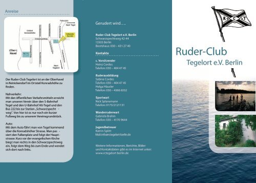 Ruder-Club Tegelort eV Berlin