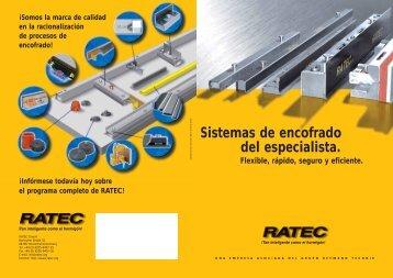 El sistema de encofra - Ratec.org