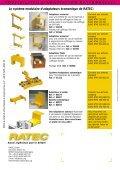 Adaptateurs de cof- frages pour aimants standard EURO ... - Ratec.org - Page 2