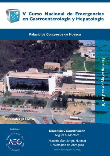 V Curso Nacional de Emergencias en Gastroenterología y Hepatología