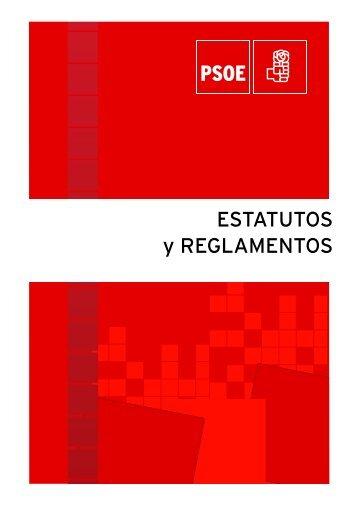 ESTATUTOS y REGLAMENTOS - Partido Socialista Región de Murcia