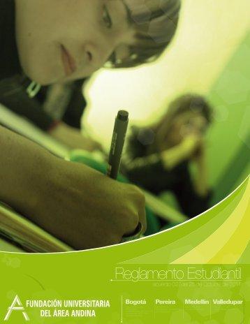 Reglamento Estudiantil - Fundación Universitaria del Área Andina