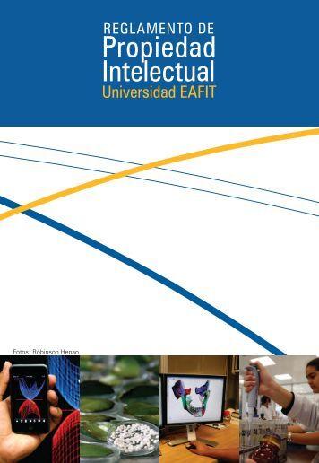 Reglamento de propiedad intelectual - Universidad EAFIT