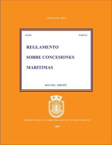 Reglamento sobre Concesiones Marítimas - Directemar