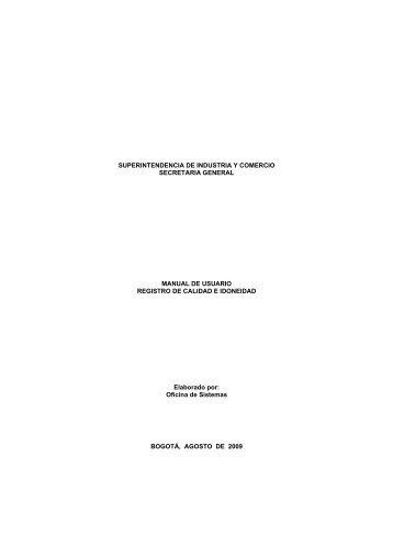 Ayuda - Superintendencia de Industria y Comercio