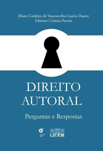 Direito Autoral: Perguntas e Respostas - Biblioteca Virtual Celepar