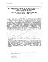 Informe - Convention on Biological Diversity