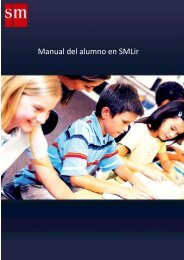 Manual del alumno en SMLir - SIMBIONTES