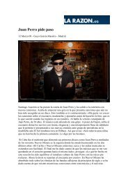 Juan Perro pide paso - La Huella sonora