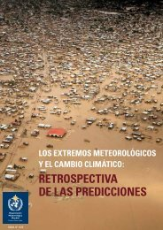Los extremos meteoroLógicos y eL cambio ... - E-Library - WMO