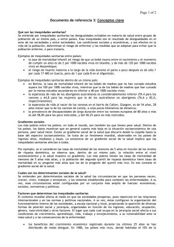 Documento de referencia 3: Conceptos clave