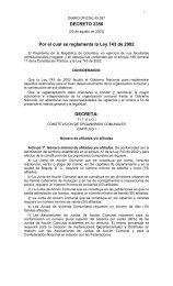 DECRETO 2350 Por el cual se reglamenta la Ley 743 ... - Santa Marta