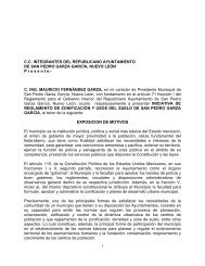 INICIATIVA Reglamento de Zonificación y Usos del Suelo ... - implan