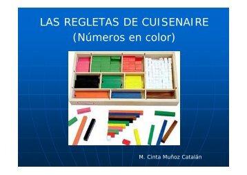 LAS REGLETAS DE CUISENAIRE (Números en color)
