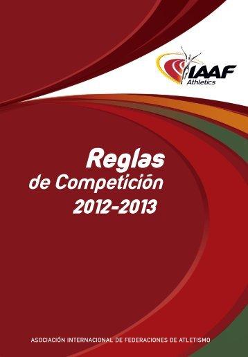 Manual IAAF - Reglas de Competición - RFEA.es