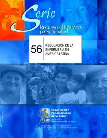 Regulación de la Enfermería en América Latina - PAHO/WHO