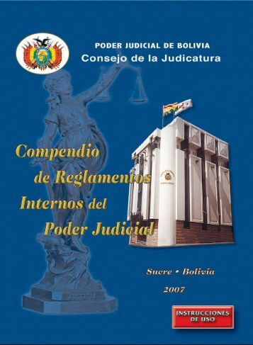 Reglamentos internos - Tribunal Supremo de Justicia