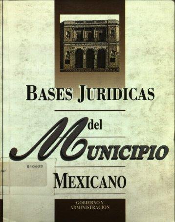 Bases Jurídicas - Instituto Nacional de Administración Pública, AC