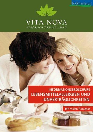 lebensmittelallergien und -unverträglichkeiten - Vita Nova ...