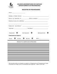 Formulario para registro de proveedores - Gruposmint.com