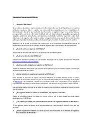 Preguntas frecuentes INFObras - Contraloría General de la República