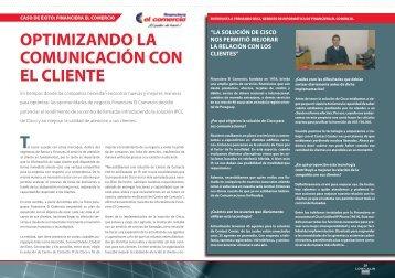 OPTIMIZANDO LA COMUNICACIÓN CON EL CLIENTE - Logicalis