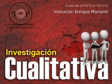 Metodología cualitativa 1.pdf - Cursos ITESO