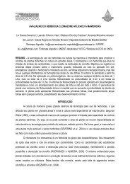 avaliação do herbicida clomazone aplicado a ... - Embrapa Algodão