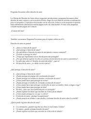 Preguntas frecuentes sobre derecho de autor - US Copyright Office