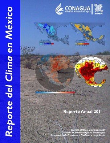 Reporte del Clima en México - Servicio Meteorológico Nacional ...