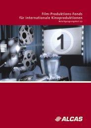 Film-Produktions-Fonds für internationale Kinoproduktionen - Real IS